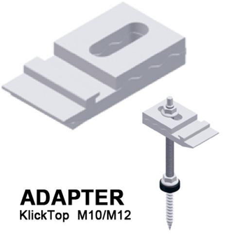 adapter regulowany KlickTop do śruby 2-gwintowej