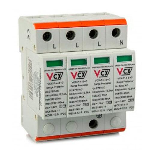 Ogranicznik przepięć AC - B+C (T1 + T2),4P, 12,5kA , 3F