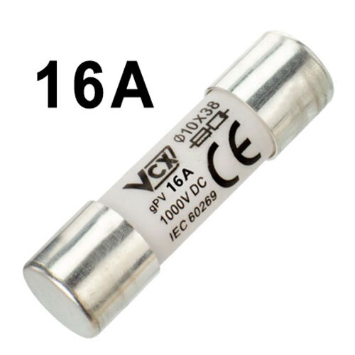 Wkładka bezpiecznikowa topikowa gPV 10x38 16A DC