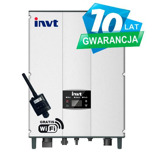 inwerter INVT - seria iMARS - 5kW - model BG5KTR - Falownik 3-fazowy
