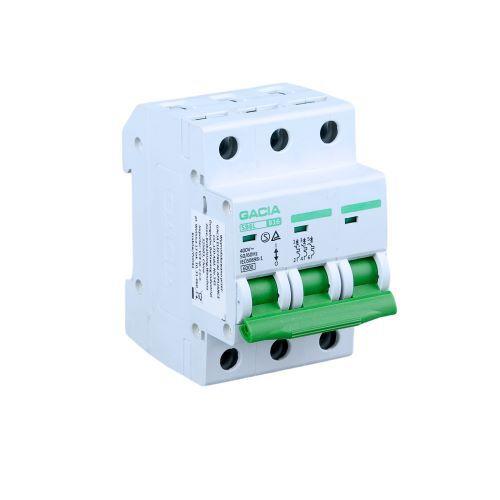 Wyłącznik nadmiarowo prądowy 6kA B 3P 16A