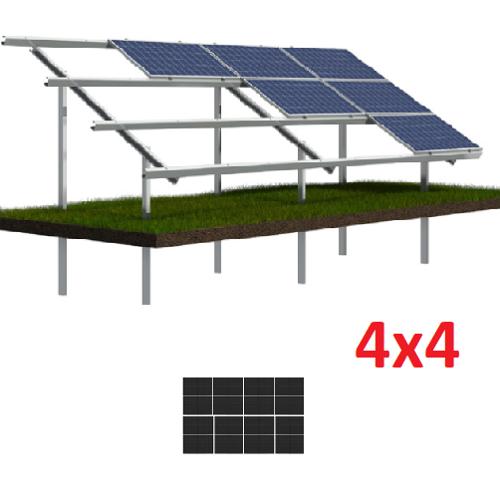 Konstrukcja gruntowa N4H4 moduły MAŁE