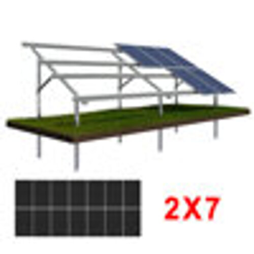Konstrukcja gruntowa wbijana N2V7 DUZE