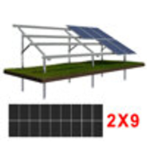 Konstrukcja gruntowa N2V9 moduły SREDNIE