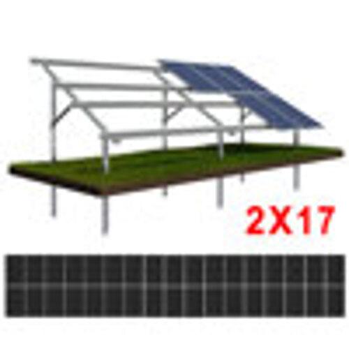 Konstrukcja gruntowa N2V17 moduły ŚREDNIE