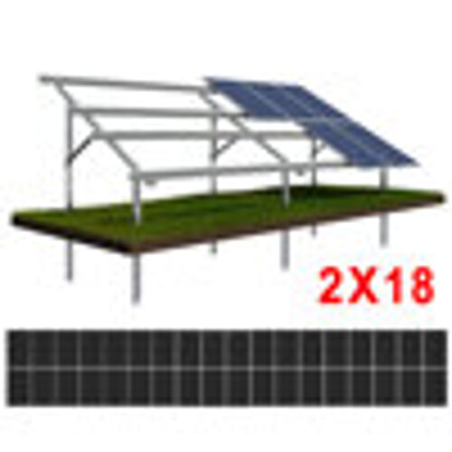 Konstrukcja gruntowa N2V18 moduły SREDNIE