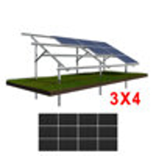 Konstrukcja gruntowa N3H4 moduły DUZE