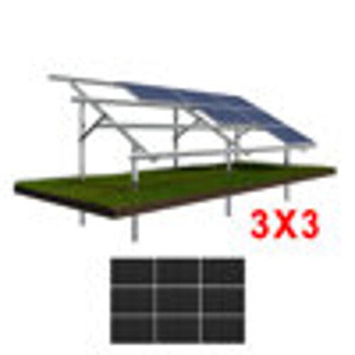 Konstrukcja gruntowa N3H3 moduły ŚREDNIE