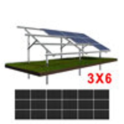 Konstrukcja gruntowa N3H6 moduły SREDNIE