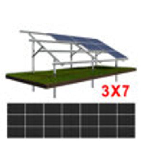Konstrukcja gruntowa N3H7 moduły SREDNIE