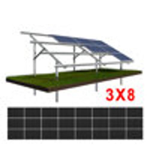 Konstrukcja gruntowa N3H8 moduły ŚREDNIE